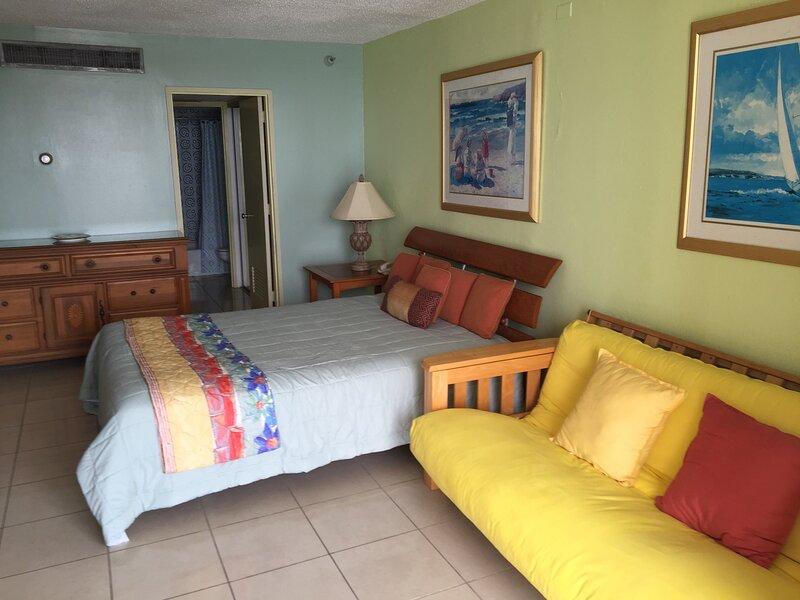 Tropical Studio with Beach Access in Isla Verde, vacation rental in Isla Verde