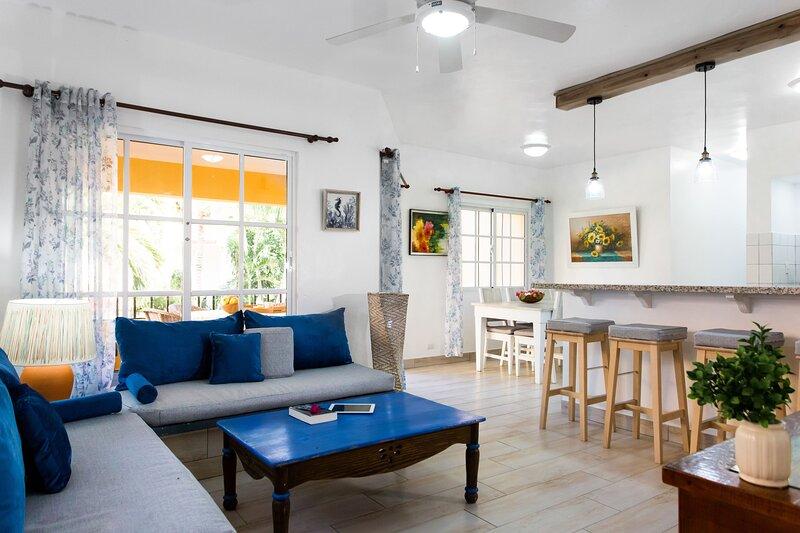 B102 - A Hidden Gem on Los Corales Beach - 2br, vacation rental in El Cortecito