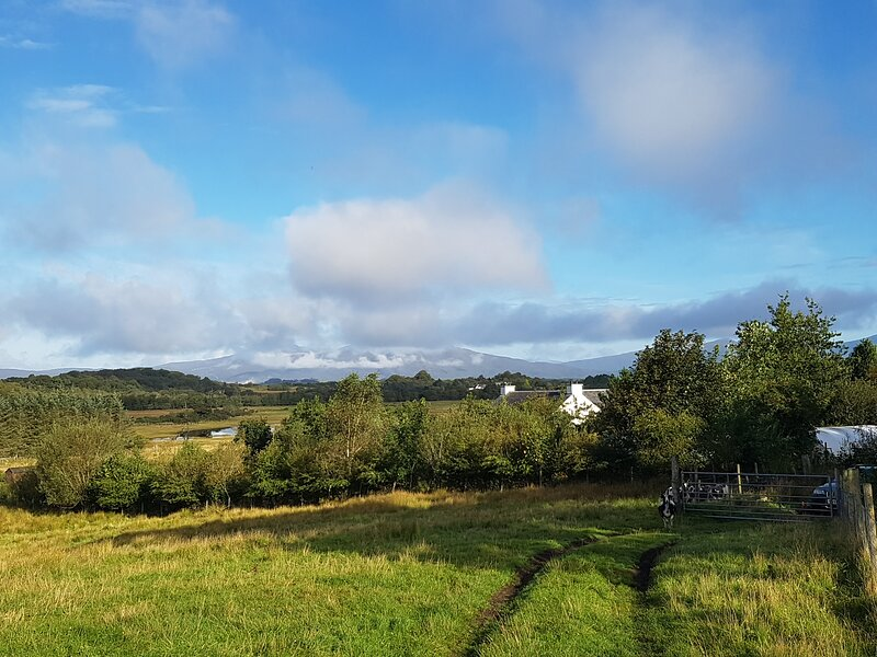 Kintaline spacious rural whole house & garden, superfast wifi,, vacation rental in Isle of Lismore