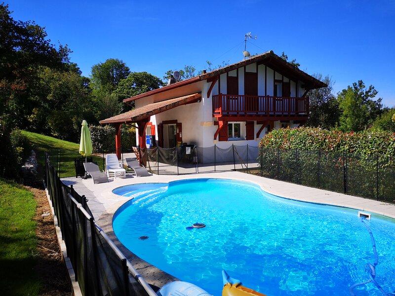 Larressore Villa, Close to Biarritz, holiday rental in Larressore