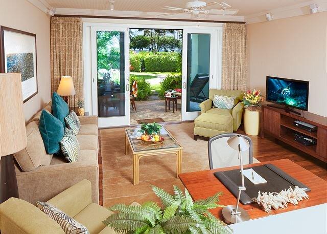 Villa 110: Ocean View Turtle Bay Beachfront 3-bed Villa, holiday rental in Kawela Bay