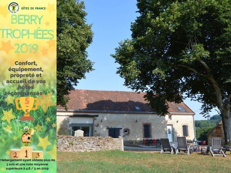 Les Breuillis, casa vacanza a Crozon-sur-Vauvre