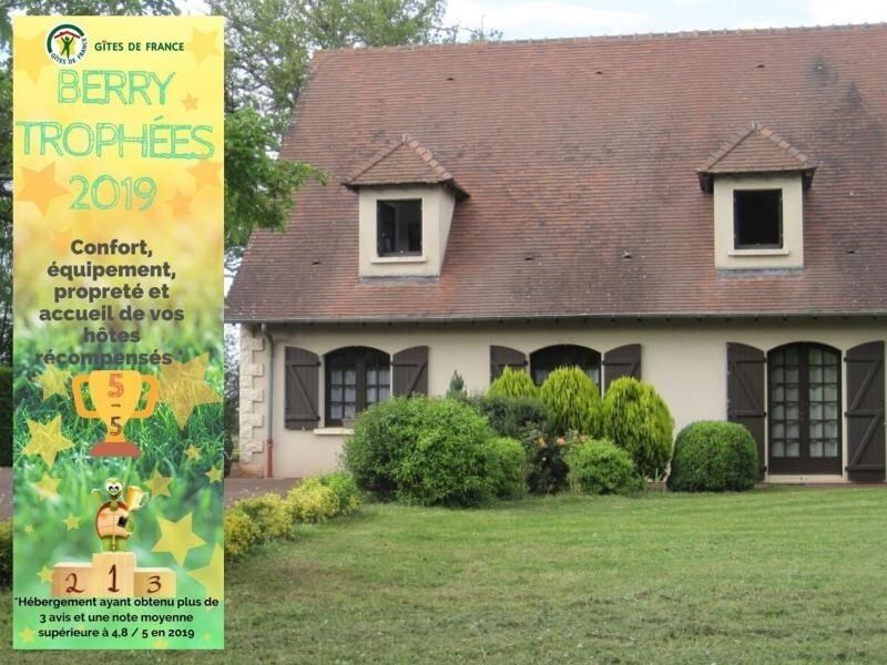 Le Terrier, holiday rental in Prissac