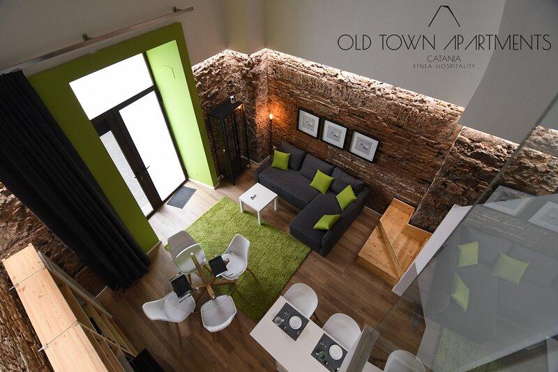 Old Town Apartments Catania (bilo fino a 4 persone), alquiler vacacional en Fleri