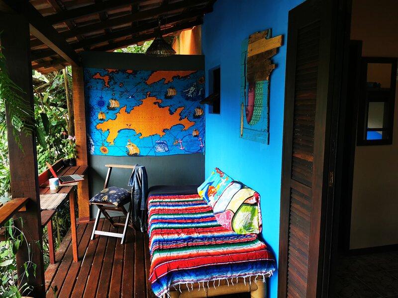 Toca Magica Suite - Vila do Abraao - Ilha Grande - Angra dos Reis - RJ - Brasil, casa vacanza a Angra Dos Reis
