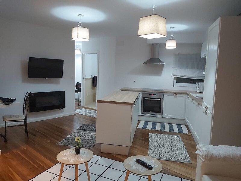 Precioso apartamento muy luminoso y céntrico, sito  edificio recién rehabilitado – semesterbostad i Ferrol