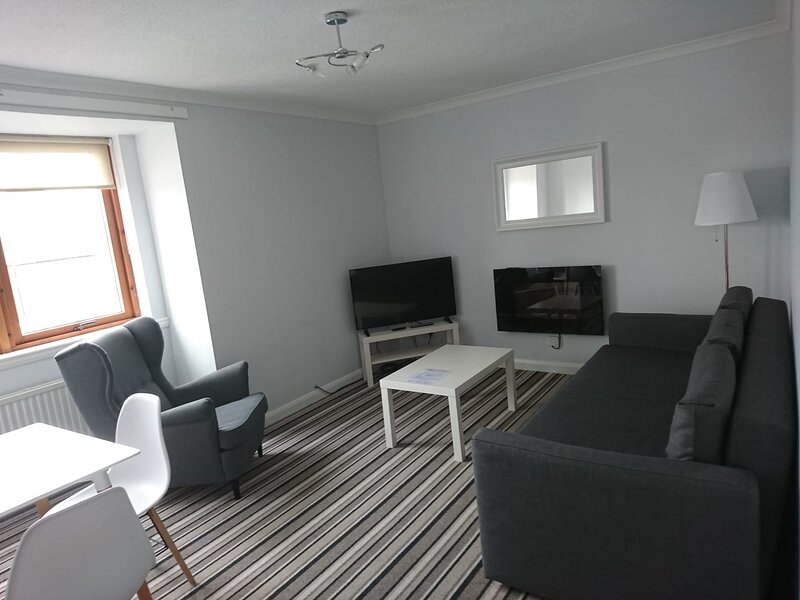 Prestwick Central Apartment, aluguéis de temporada em Prestwick