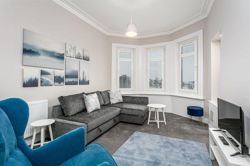 Seaforth Suite - Donnini Apartments, aluguéis de temporada em Prestwick