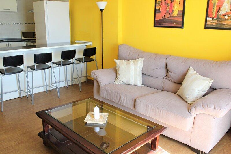 Nice 2 bd apartment by the sea in Playa San Juan, alquiler vacacional en Playa San Juan
