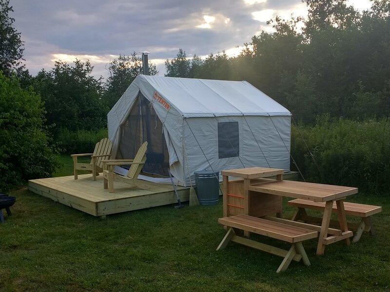 Tentrr Signature Site - Missisquoi Magic, holiday rental in Dunham