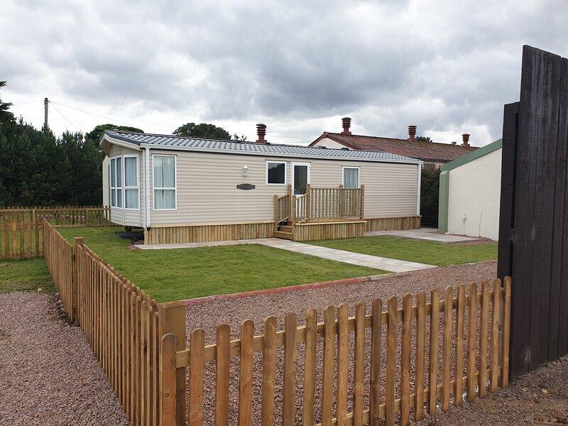 Fenton Barns Holiday Caravan, vacation rental in Aberlady