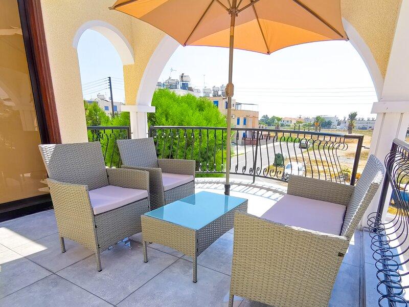 Bella Ciao Beach Apartment - 4,5 (1bdr) – semesterbostad i Livadia
