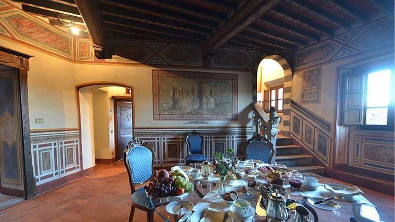 Canonica, vacation rental in Lecchi in Chianti