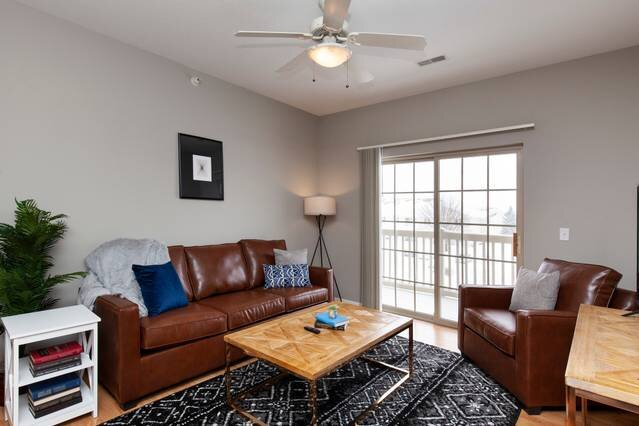 Iowa State University Flat + Pool, holiday rental in Ames