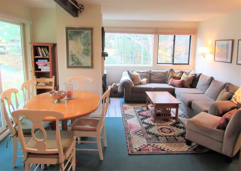 Walk to the Town Square at this Pet Friendly Waterville Valley Vacation Condo!, vacation rental in Wonalancet