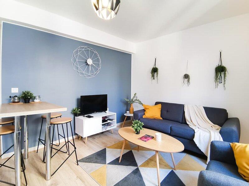 ⭐️ Appartement calme en hypercentre, vacation rental in Chenove