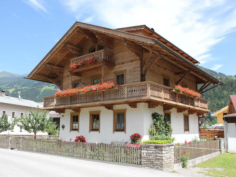 Haus Stock, aluguéis de temporada em Zell im Zillertal