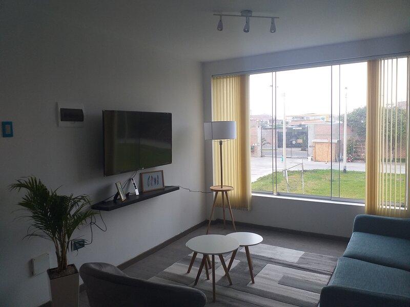 ALQUILER DEPARTAMENTO AMOBLADO - CONDOMINIO -CHANCAY, holiday rental in Chancay