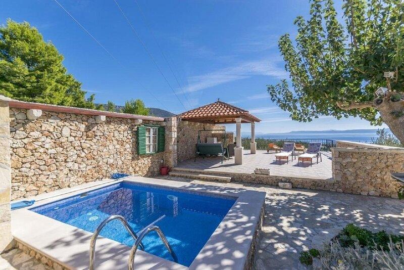 Mate - with pool: H(4) - Bol, casa vacanza a Murvica