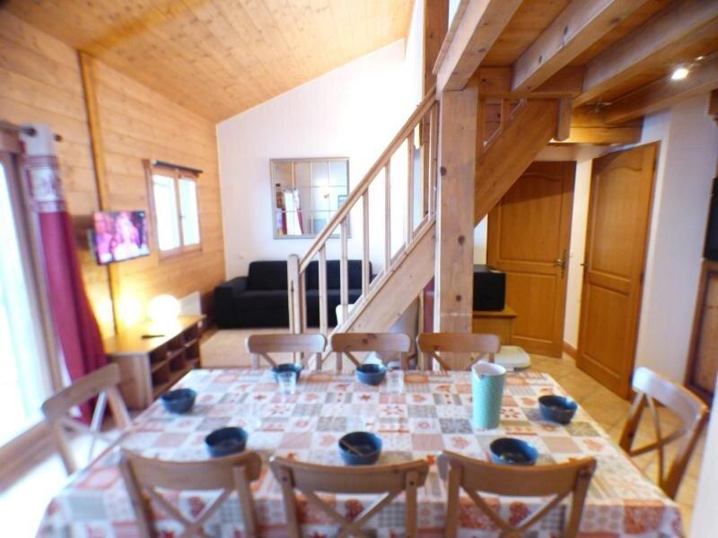 SECTEUR BISANNE 1500 - 3 pièces mezzanine de standing, 54 m² avec piscine, holiday rental in Queige