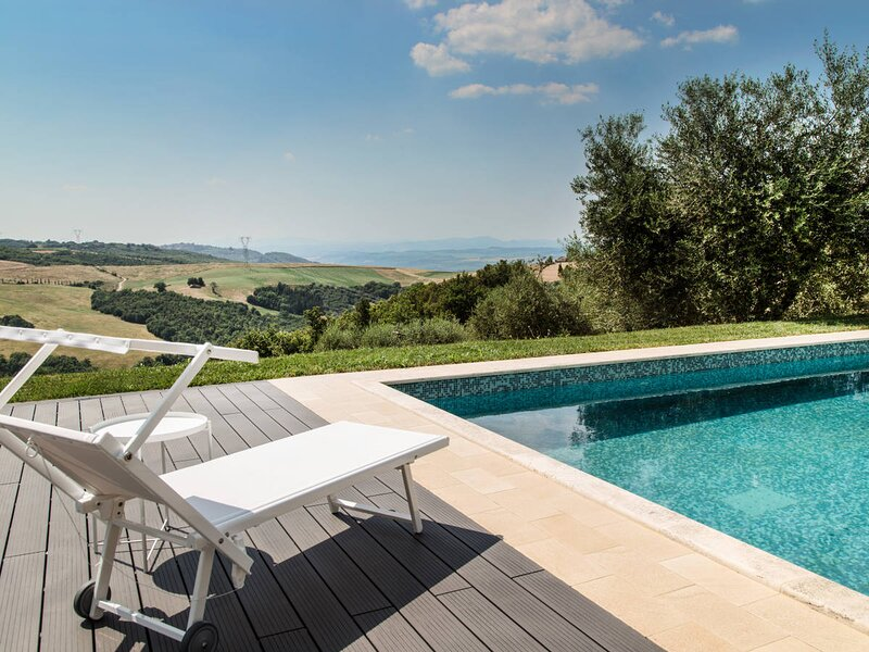Poggioferro Villa Sleeps 8 with Pool Air Con and WiFi - 5873346, location de vacances à Seggiano