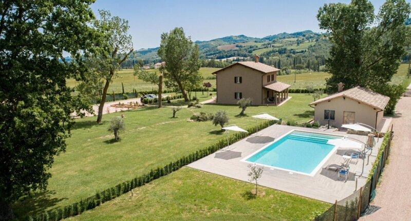 Agriturismo Querceto, location de vacances à Gubbio