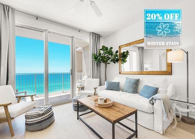 Majestic Sun 905A - Beach View Living Area, HDTV, Sleeper Sofa