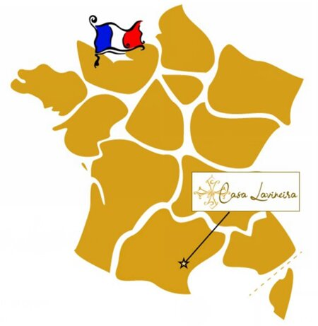 We are located in the Real South of France, in the wine making Minervois region.