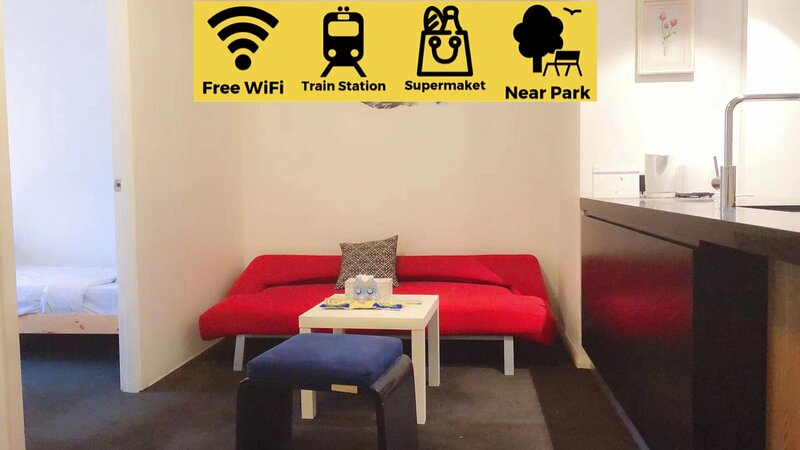Comfortable 3bed2bath APT *Erskineville (station), vacation rental in Marrickville