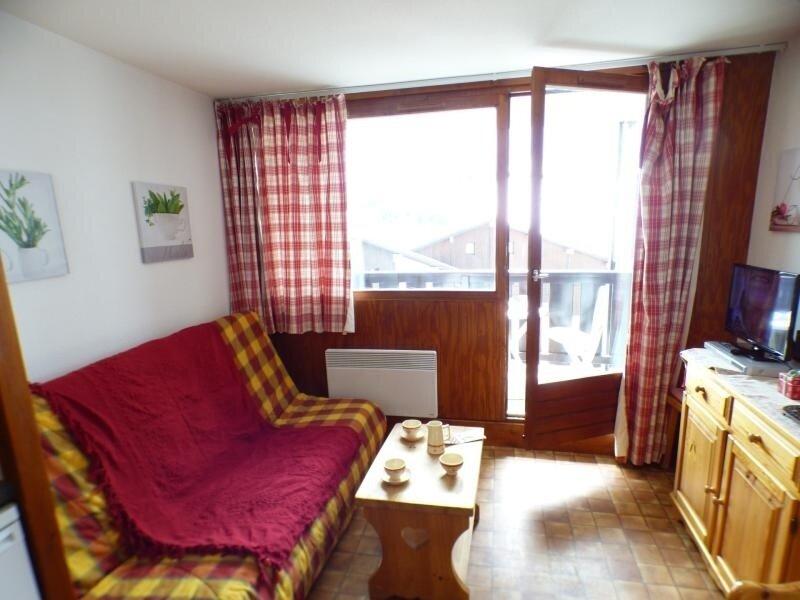 Studio cabine 22 m², orienté SUD, classé 1*, holiday rental in Les Saisies