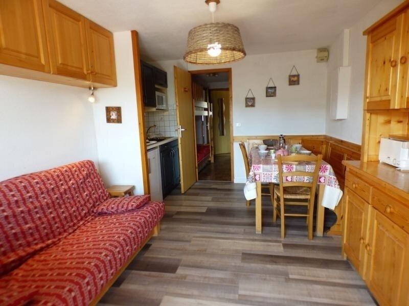 2 pièces alcove 28 m² avec solarium, classé 2**, holiday rental in Les Saisies