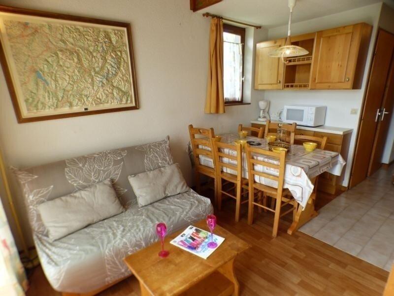 3 pièces + mezzanine de 31 m2+ 11m21.80m, holiday rental in Les Saisies