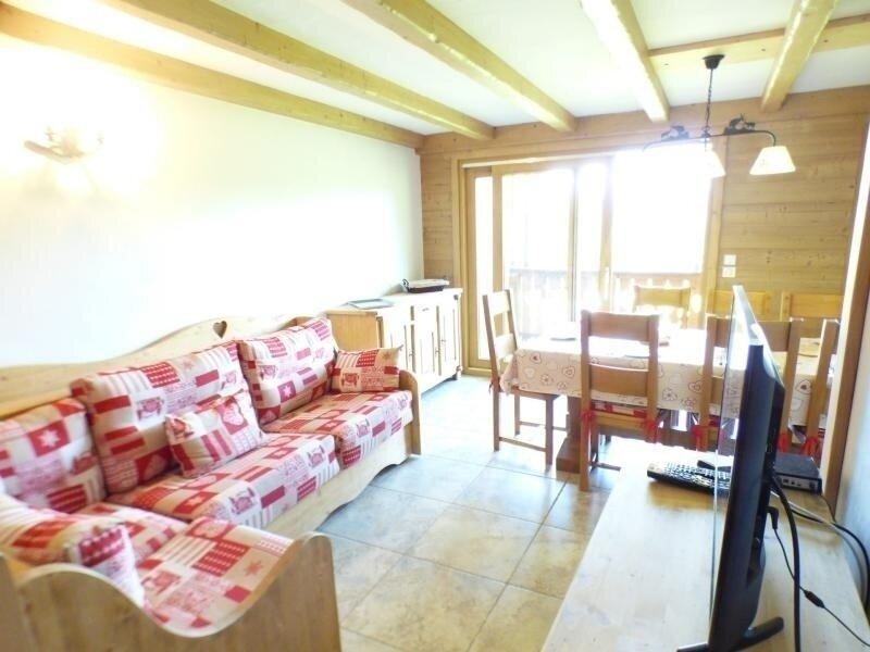 secteur: entre les Carrets et Forêt des Rennes - Confortable duplex 4 pièces, holiday rental in Les Saisies