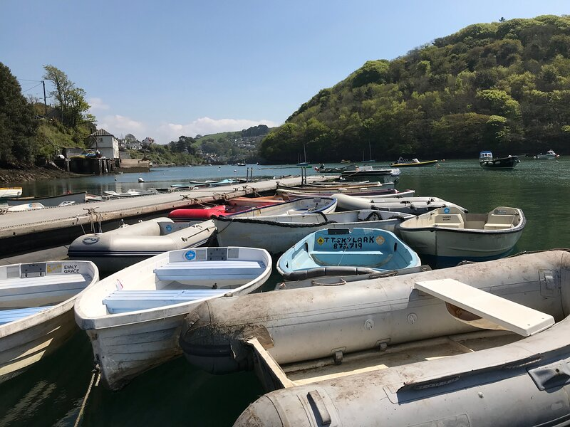Noss Mayo, South Devon Detached 4 bed house with fabulous river views, vacation rental in Noss Mayo
