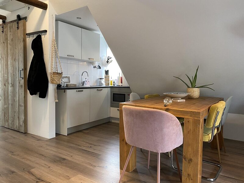 Central Studio apartment Aweg, holiday rental in Steendam