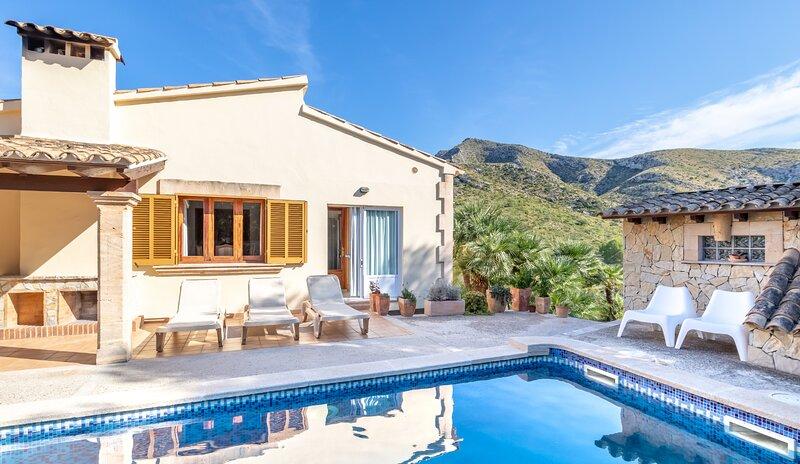 ✦ Sea & Mountain View «Villa Malva» close to the Beaches, casa vacanza a Mal Pas