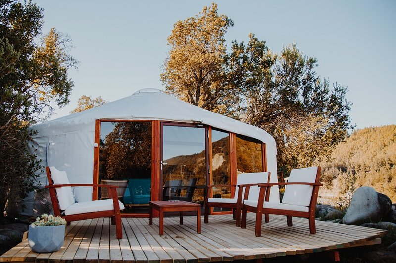 Achibueno Yurt, vacation rental in Linares