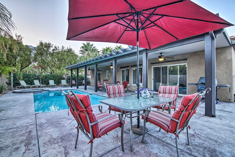 NEW! Private Palm Springs Escape w/ Backyard Oasis, casa vacanza a North Palm Springs