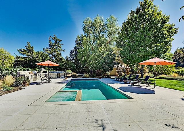 Garden Wine Country Getaway with Pool, Spa & Outdoor Kitchen, vacation rental in Kenwood