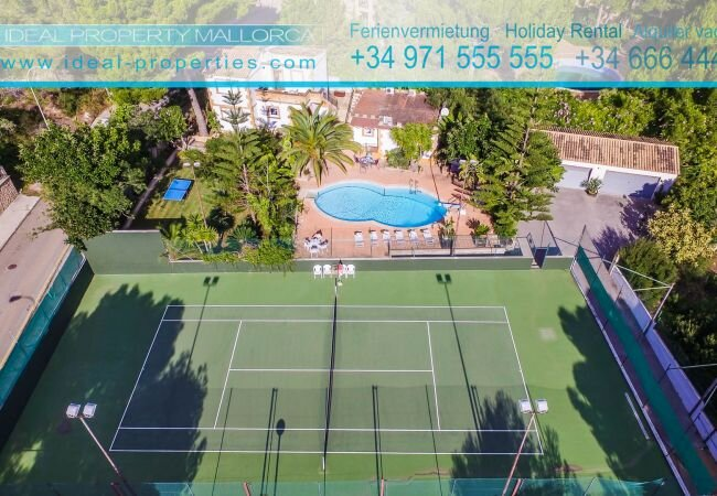 Cala Mesquida Apartment Sleeps 4 with Pool Air Con and WiFi - 5874400, holiday rental in Cala Mesquida