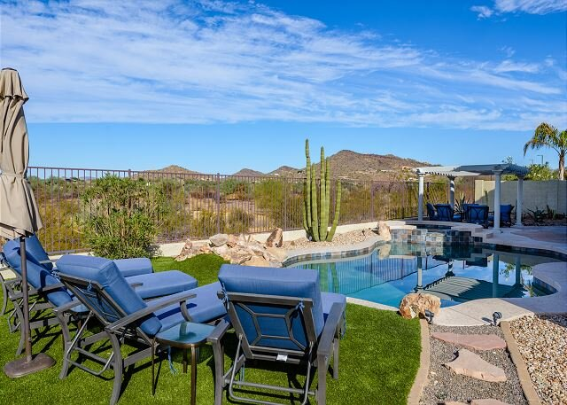 Heated Pool/Spa, Mountain/Sunset Views, Amenities, casa vacanza a New River