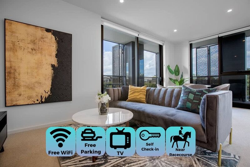 Designer 2BR with Carpark Monash Uni*Caulfield, casa vacanza a Black Rock