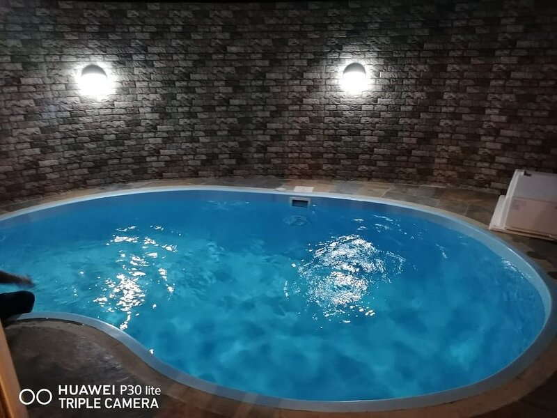 Big villa with swimming-pool, holiday rental in Petit Raffray