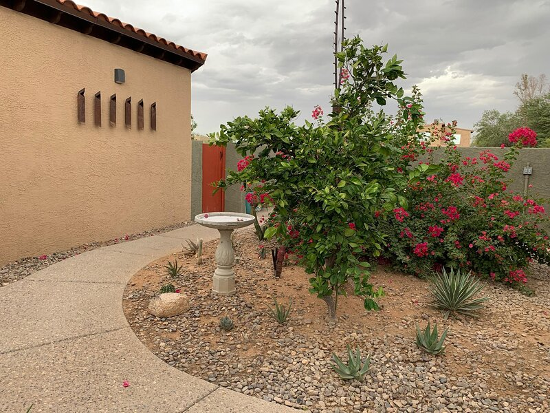 Courtyard in front of Casita M
