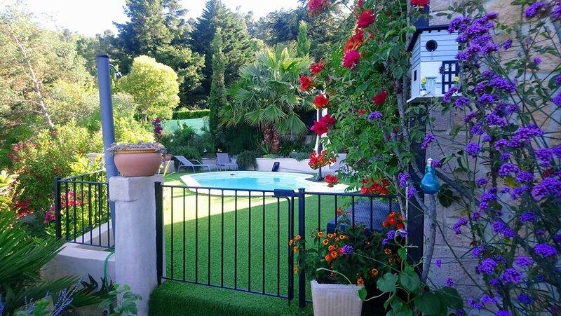 Gîte en Cévennes avec piscine privée. 'Les Rigourdiers', holiday rental in Saint-Michel-de-Deze