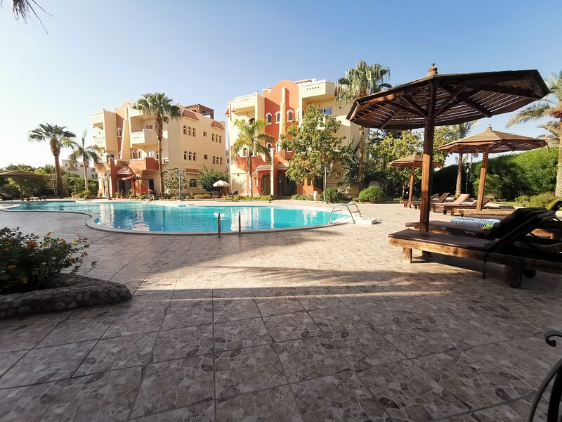 Holiday apartment with a swimming pool, holiday rental in Makadi Bay