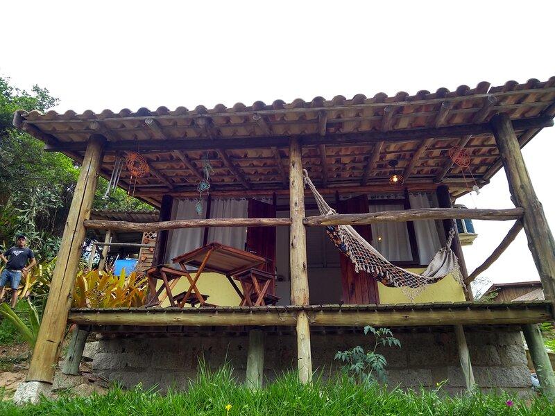 Pousada Morgana Cabaña Parejas, holiday rental in Barra de Ibiraquera
