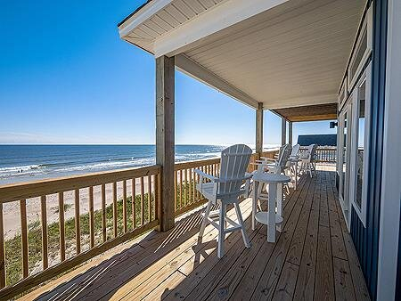 Covered Deck and Ocean View