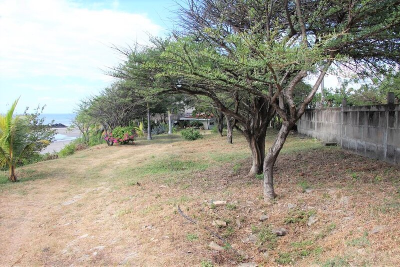 A 100 meter ocean front driveway leads to the rancho