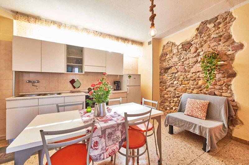'romantic' trilocale con vista lago, vacation rental in Cola
